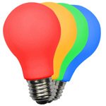 Colored LED A19 Bulbs - Category Image