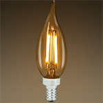 Antique LED Filament Chandelier Light Bulbs - Category Image