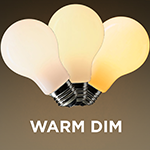Warm Dim A19 LED Light Bulb - Category Image