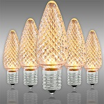 Deluxe Warm White LED Christmas Bulbs - Category Image
