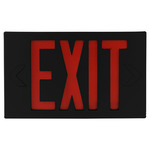 Black LED Exit Signs - Category Image