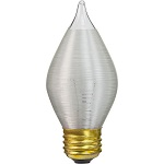 Satin Threaded Glass Chandelier Light Bulbs - Category Image