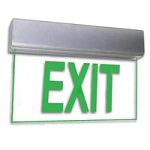 Edge-Lit Exit Signs - Category Image
