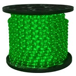 Green - LED Rope Light - 120V Spools - Category Image