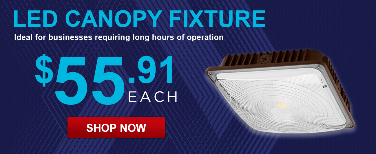 The Perfect Canopy Light for your Business